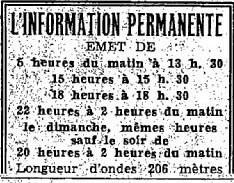 Information permanente : la première radio tout info était nazie