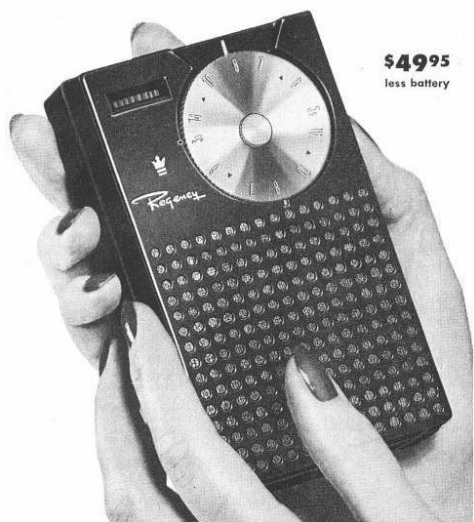 Octobre 1954 : le transistor se prépare à enterrer la TSF