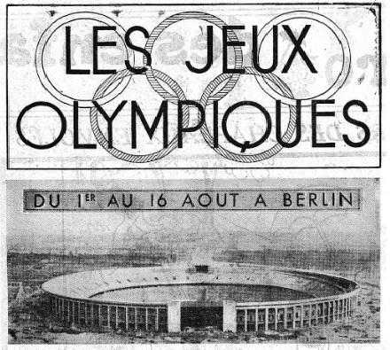Comment les radios françaises ont couvert les J. O. de Berlin ?