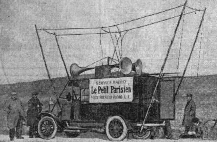 Le Poste du Petit Parisien improvise un premier camion de reportage
