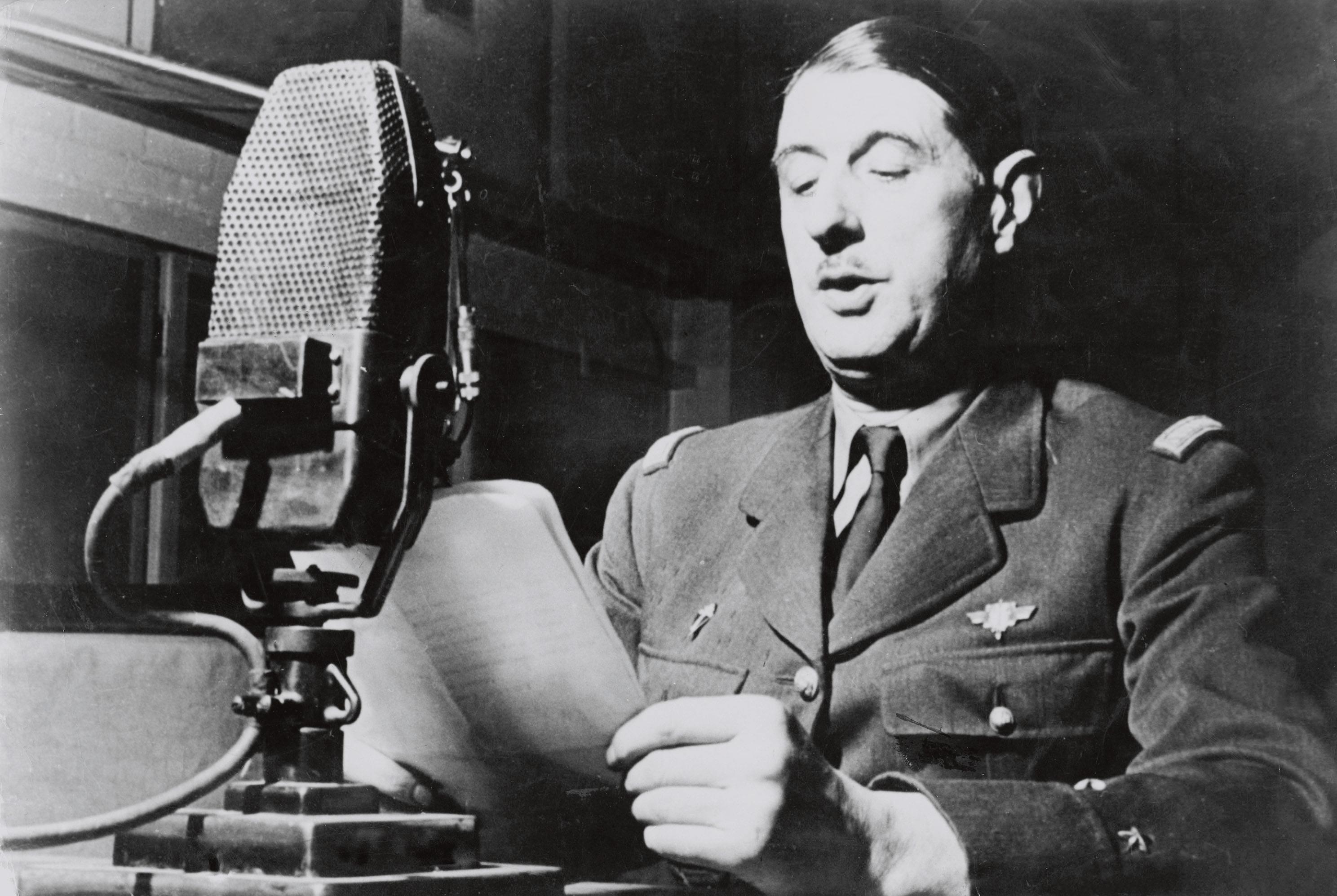 Sur quelles longueurs d'ondes a été diffusé l'appel du Général de Gaulle ?