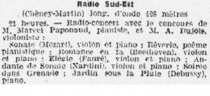 Radio-Sud-Est à Lyon
