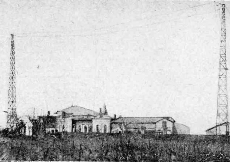 Radio-Toulouse sur le plateau de Balma