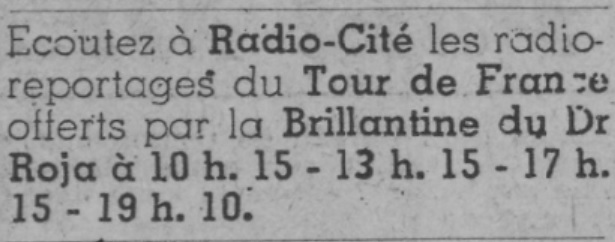 Radio Cité Tour de France