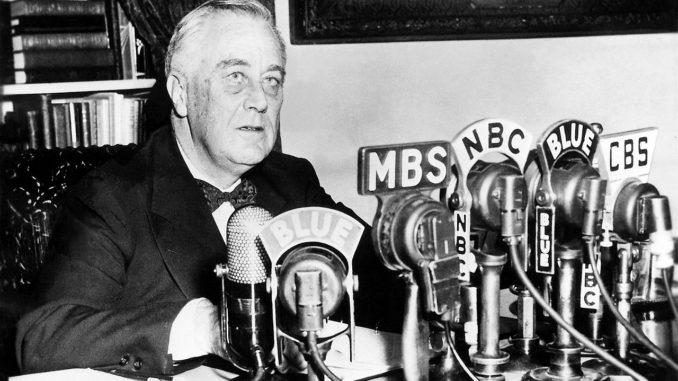 Roosevelt à la radio