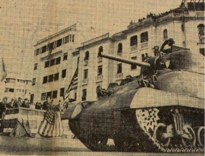 Troupes américaines à Rabat