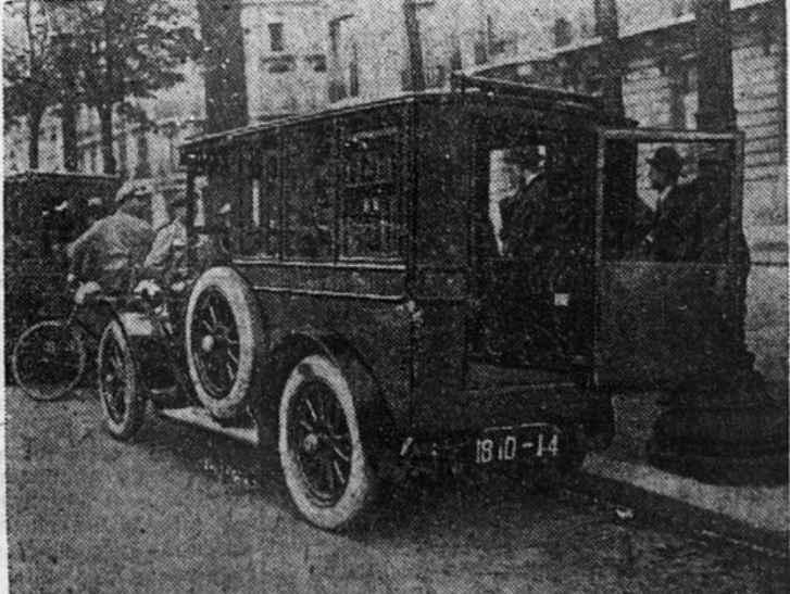 Voiture de la mission autos-radio
