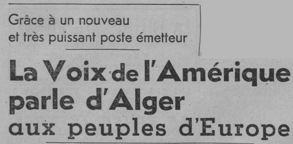 VOA Alger