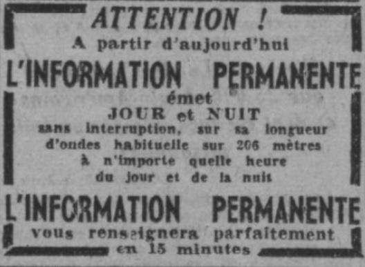 L'Information permanente