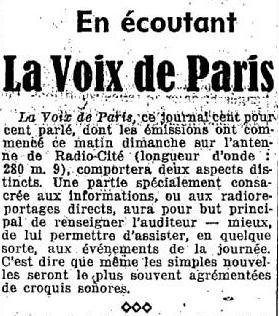 La Voix de Paris
