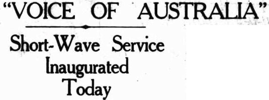 Voix de l'Australie