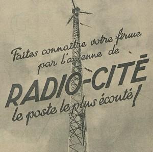 Radio-Cité, la première radio music and news française