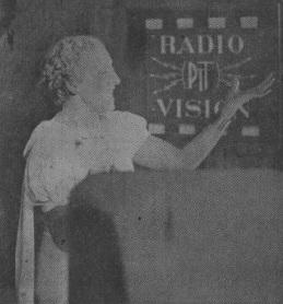 Radiovision-PTT diffuse la première émission de la télé française