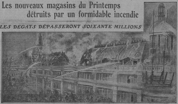 Incendie du Printemps 1921