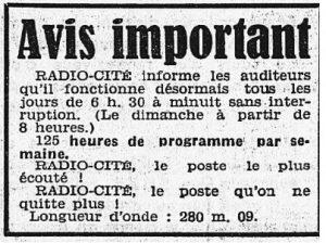 Radio Cité Paris
