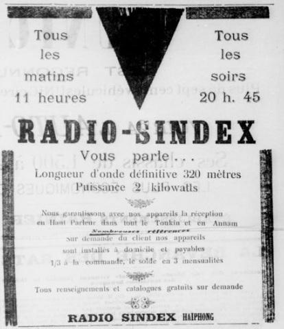 Radio Sindex à Haïphong