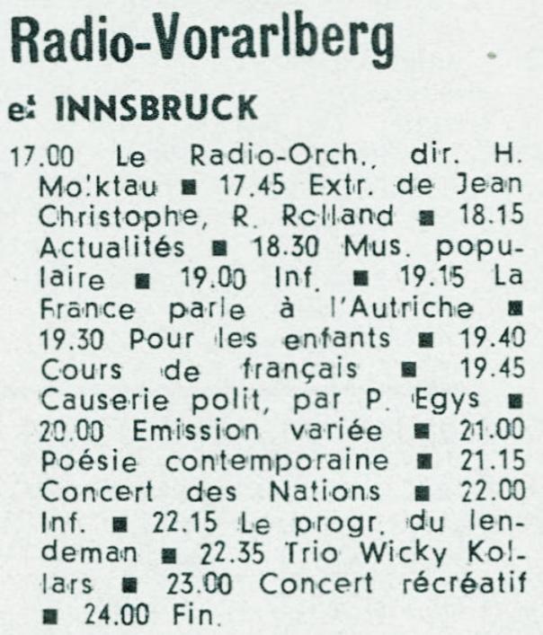 Radio Vorarlberg