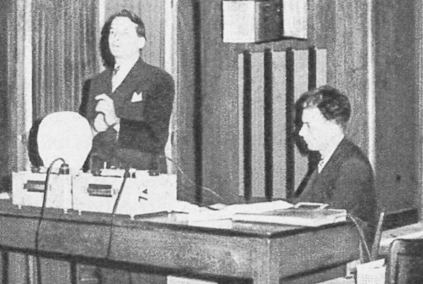 José Bernhart et Jean-Wilfrid Garrett