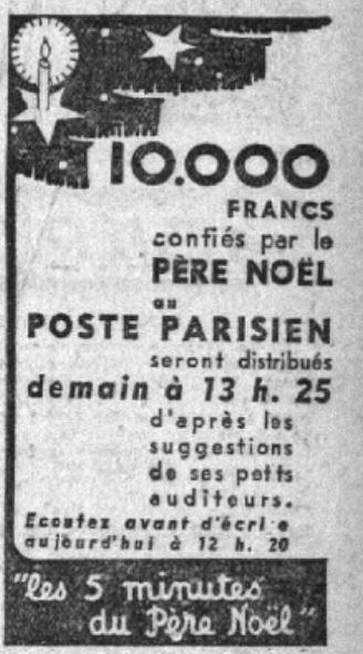 Noël au Poste Parisien